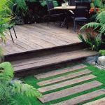 Adorable Decking Ideas For Sloping Garden