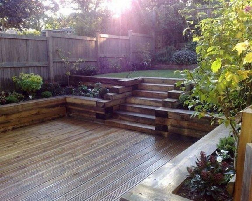 Amazing Decking Ideas For Sloping Garden