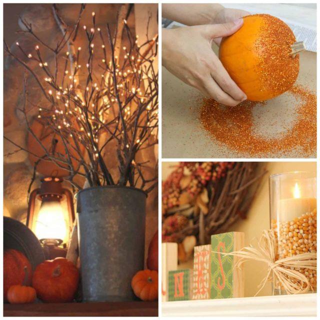 Beautiful fall decor ideas diy