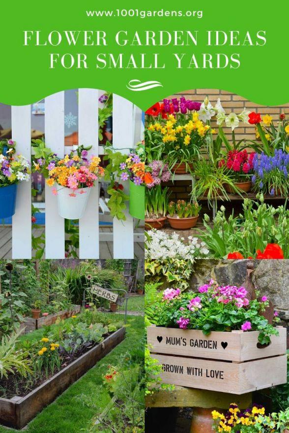 Amazing small flower garden ideas