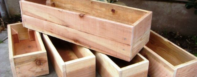 Amazing  wood planter box ideas