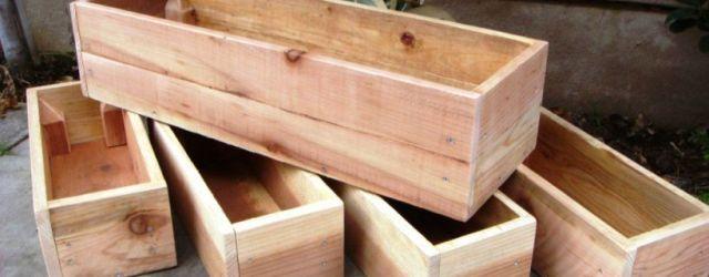 Amazing  wood planter box ideas