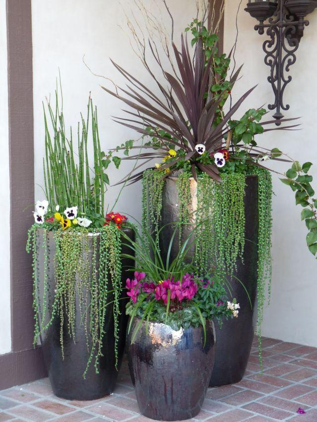 Gorgeous ideas for large flower pots