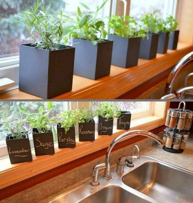 Wonderful indoor herb garden ideas
