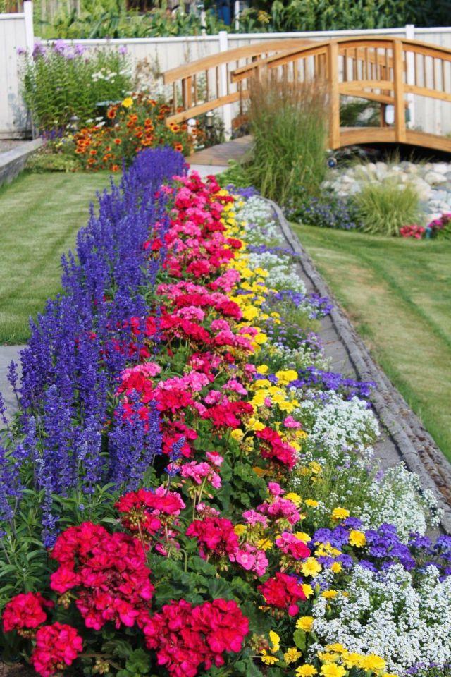 Best backyard flower garden ideas