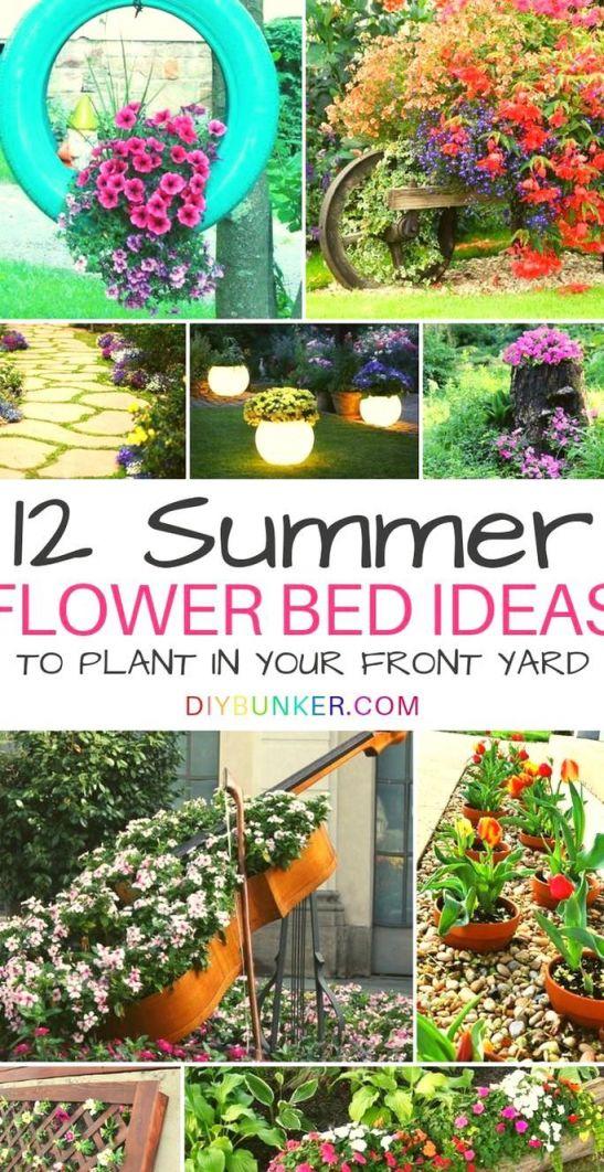 Top flower garden ideas in front of house