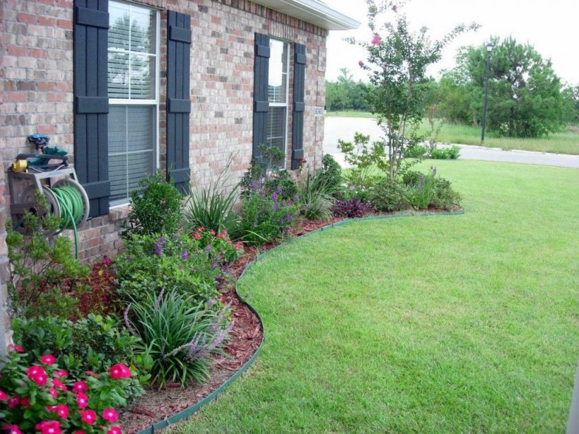 Fantastic Simple Landscape Ideas For Front Of House
