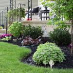 Gorgeous Flower Bed Designs For Front Of House