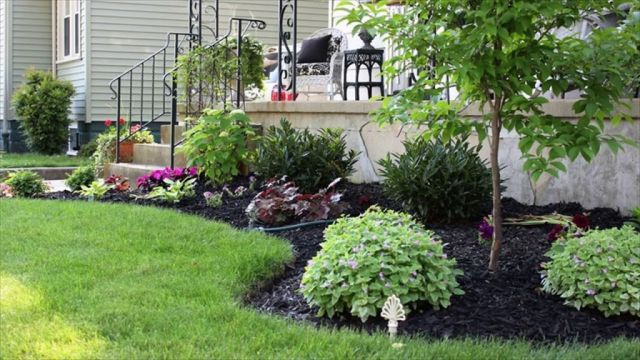 Best flower bed designs for front of house