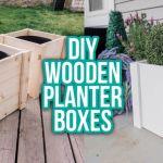Gorgeous Wood Planter Box Ideas