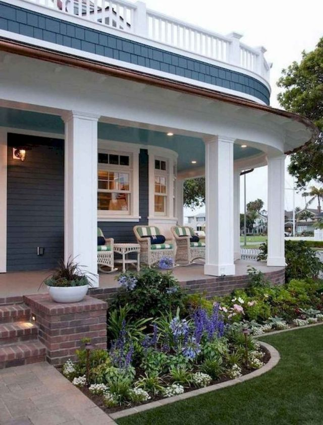 Top farmhouse front yard landscaping ideas
