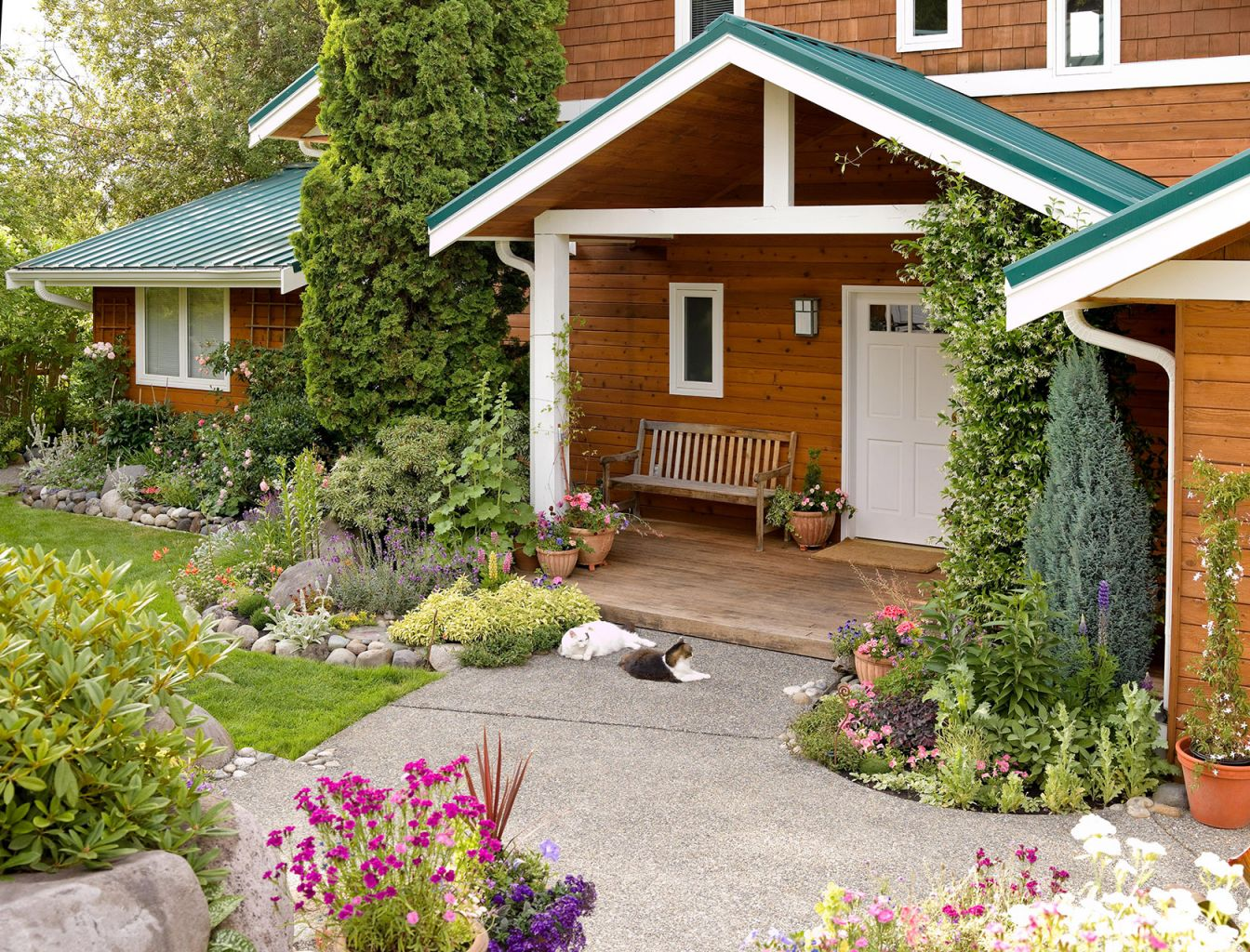 Awesome Front Yard Landscaping Ideas Roses