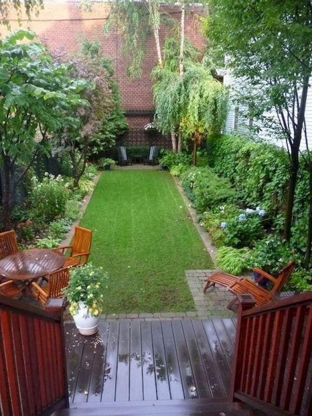 Cool narrow backyard ideas
