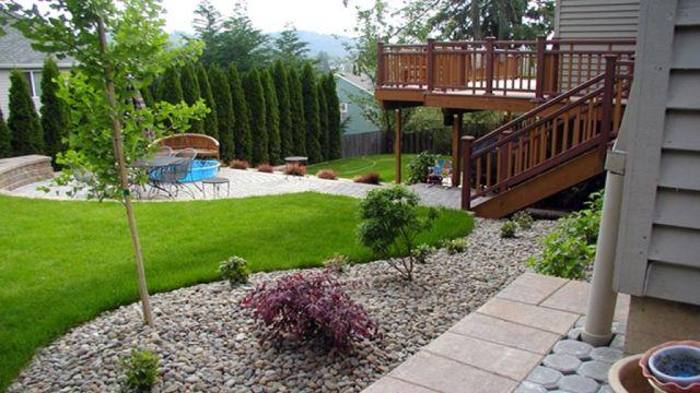 Wonderful small backyard landscape ideas