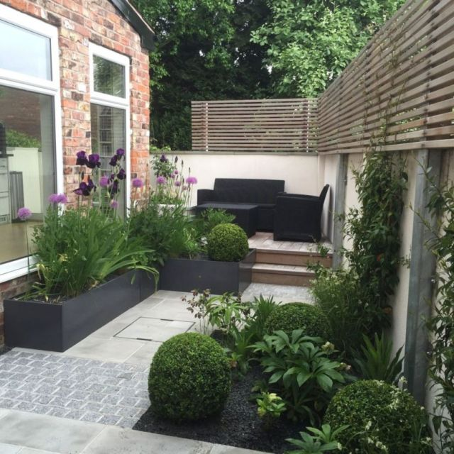 Gorgeous terraced house front garden ideas