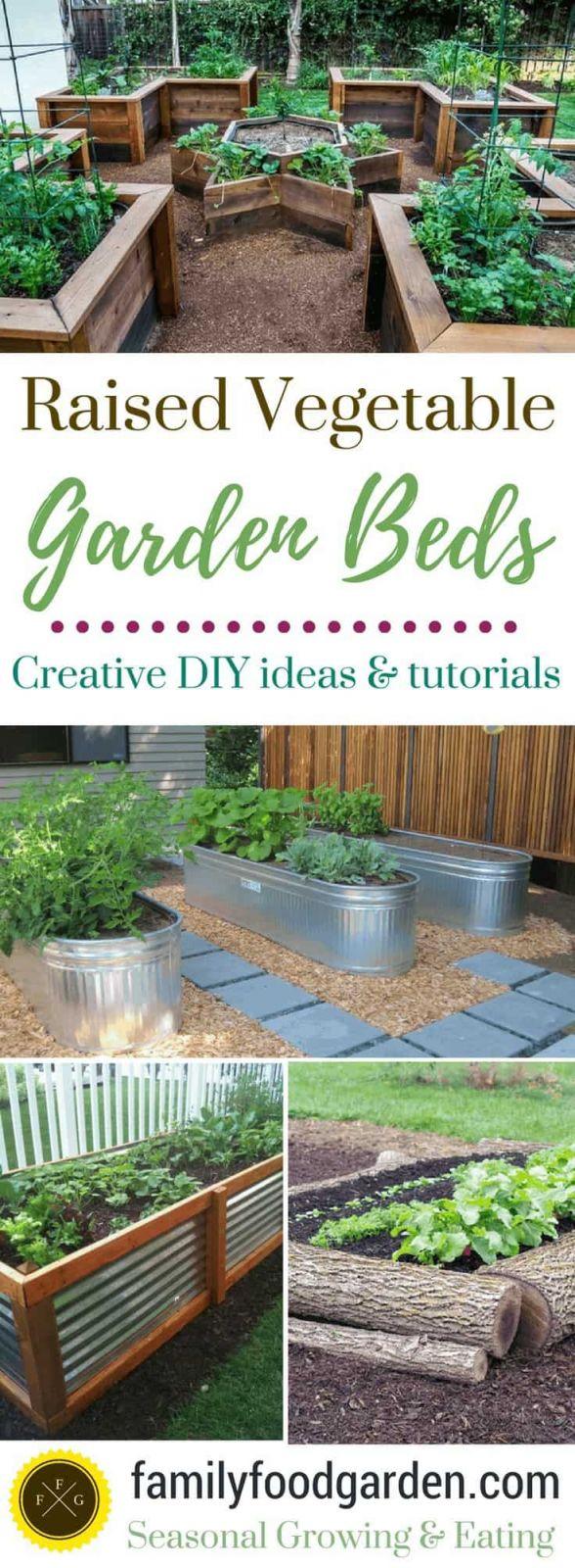 Nice Raised Garden Bed Ideas Vegetables