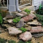 Awesome  flower bed ideas with rocks