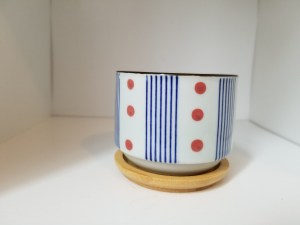 Hand-painted Japanese Decorative Pot