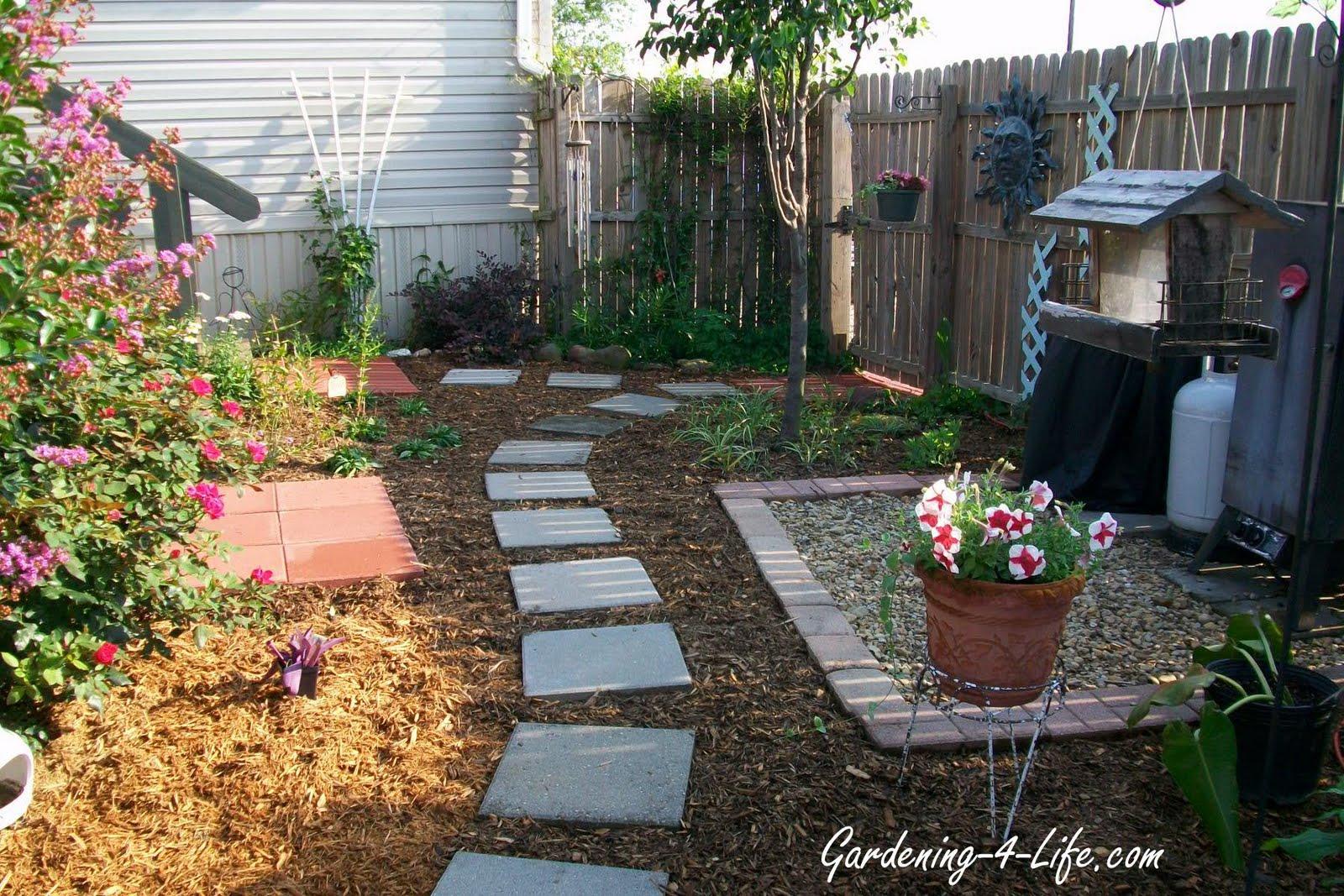 Gardening-4-Life | When Gardeners garden, it is not just ... on Small Backyard Renovation Ideas id=32960