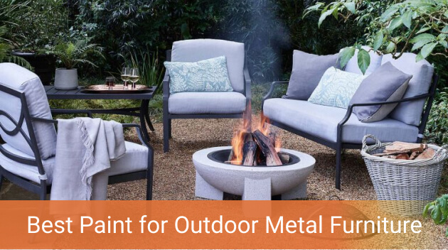 Best Paint For Outdoor Metal Furniture, What Is The Best Paint For Outdoor Metal