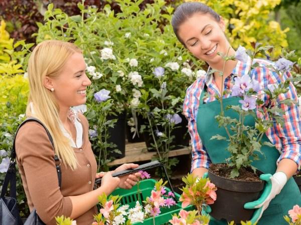 Start a career as a garden center staff