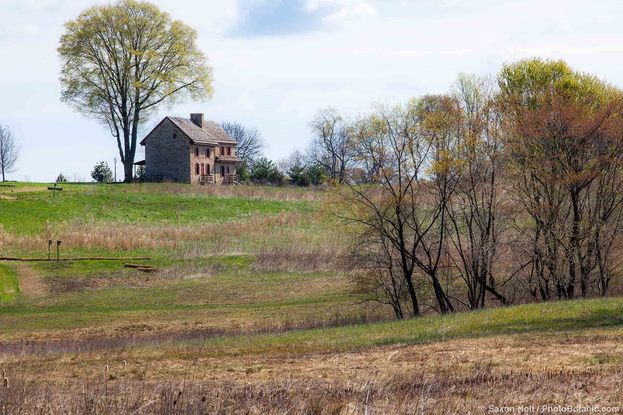 Webb Farmhouse, Meadow Garden, Longwood Garden, Pennsylvania