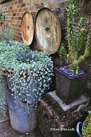 Trash bin planters resized