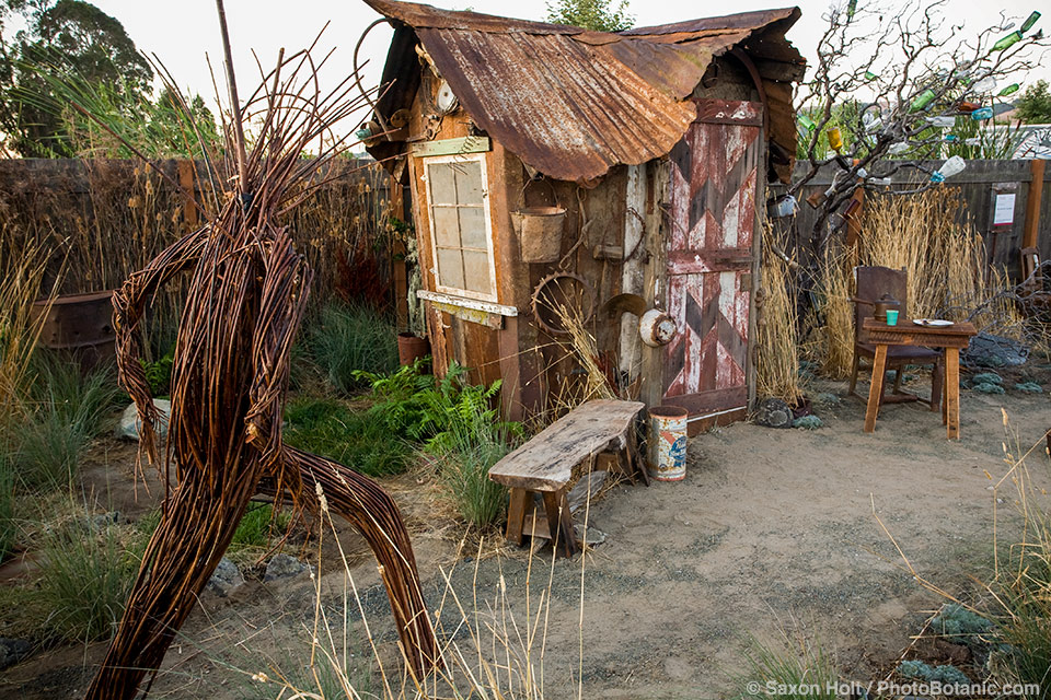 """""""The Hermit's Garden"""" by Kate Frey and Ben Frey at The Late Show Gardens"""