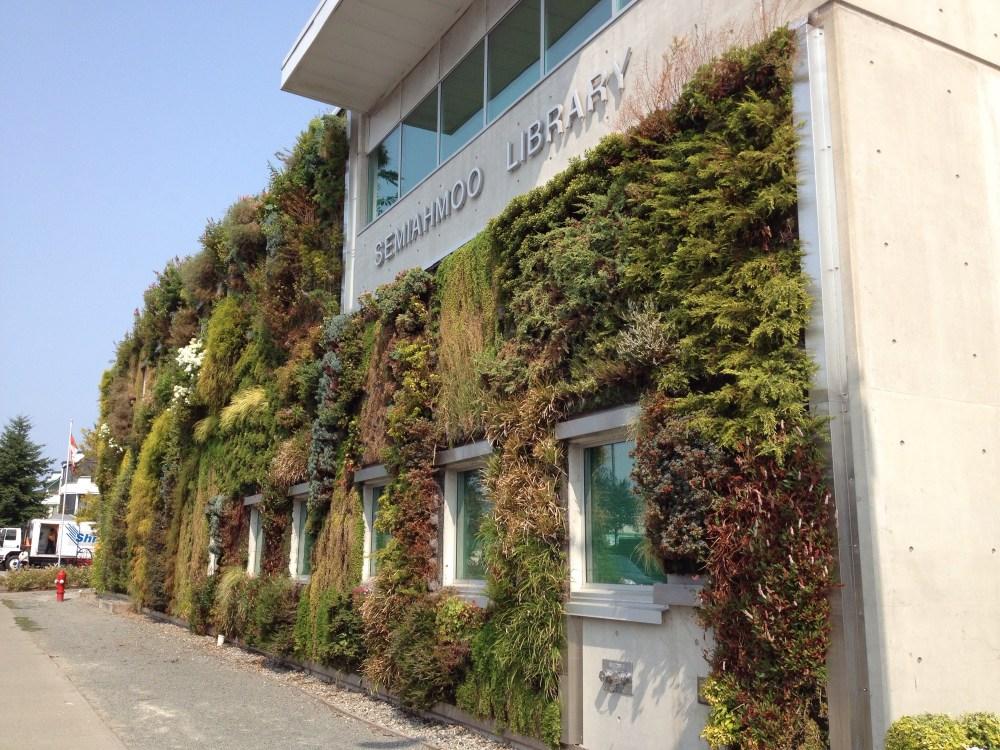 Semiahmoo Library's Green Wall (3/6)