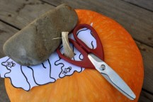 Rock, Paper, Scissors Pumpkin