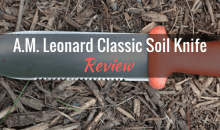 A.M. Leonard Classic Soil Knife: Product Review