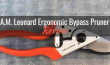 A.M. Leonard Ergonomic Bypass Pruner (#1234): Product Review