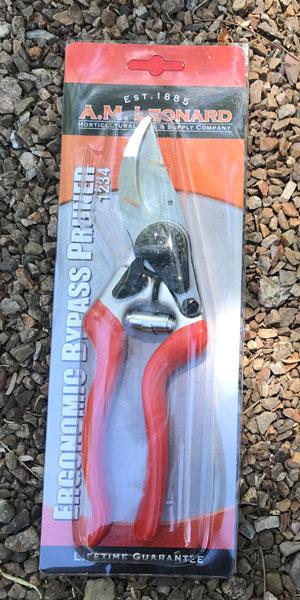 AM Leonard Bypass Pruner packaging