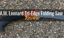 A.M. Leonard Tri-Edge Folding Saw (A700): Product Review