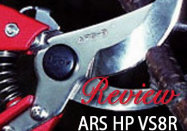 ARS HP VS8R Pruning Shears Review