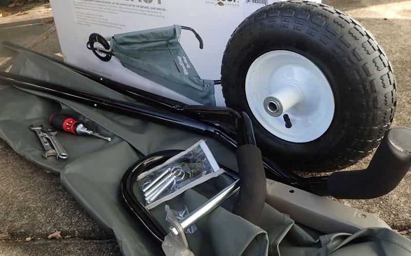 Allsop Wheeleasy parts and tools