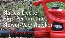 Black & Decker High Performance Blower/Vac/Mulcher (BV3600): Product Review