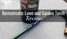 Bernzomatic Lawn and Garden Torch (JT850)/Flame Weeder: Product Review