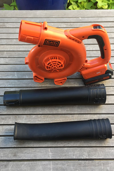 Black & Decker Cordless Blower Disassembled