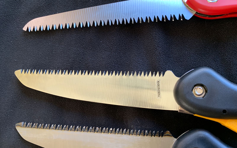 Centurion-Folding-Handsaw-blade-comparison