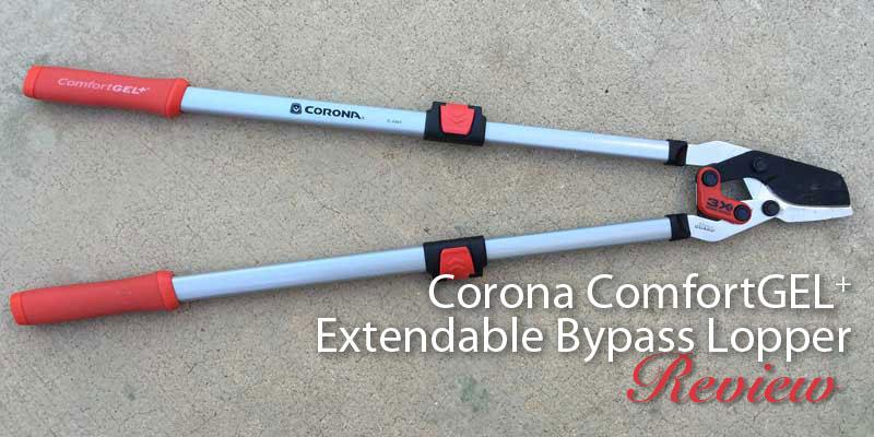 Corona ComfortGEL+ Extendable Bypass Lopper review