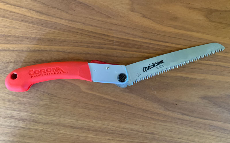 Corona QuickSaw over center