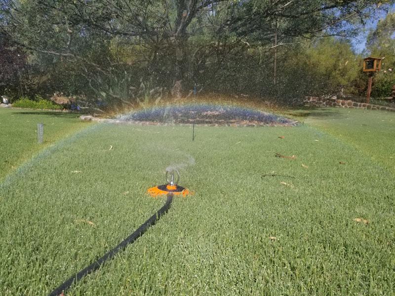 Dramm spinning rainbow