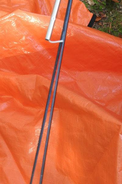 EZ Leaf Hauler snapped handle 1