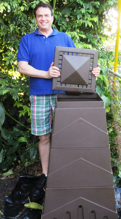Eco Stack composter assembly
