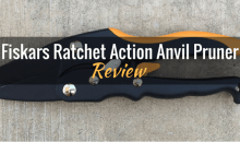 Fiskars Ratchet Action Anvil Pruner: Product Review