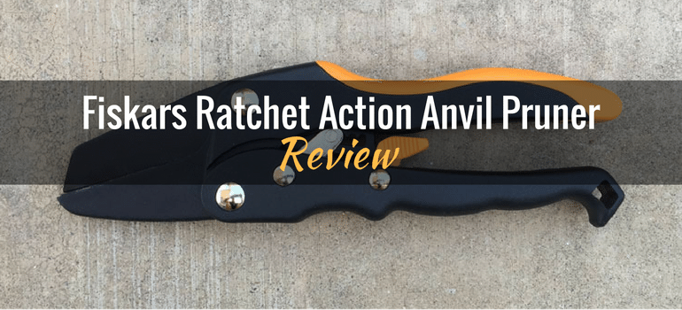 Fiskars Ratchet Action Anvil Pruner
