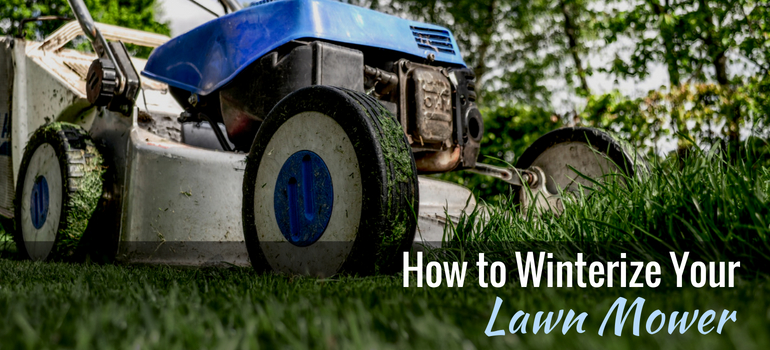 5 steps to winterize your lawn mower