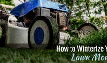 How to Winterize Your Lawn Mower in 5 Easy Steps