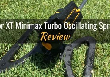 Melnor XT minimax turbo oscillating sprinkler featured image